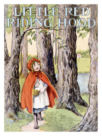 Original Red Riding Hood Fairy Tale